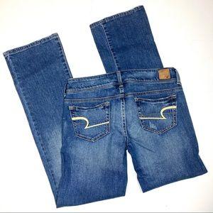 American Eagle AE jeans slim boots sz 6